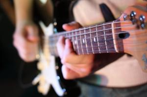 guitar close-up